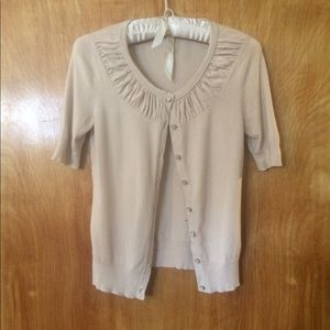 NY&Co short sleeve cardigan